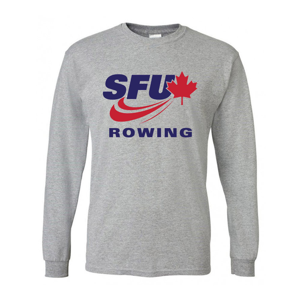 SFU Rowing - Long Sleeve T-Shirt (Booking Only)