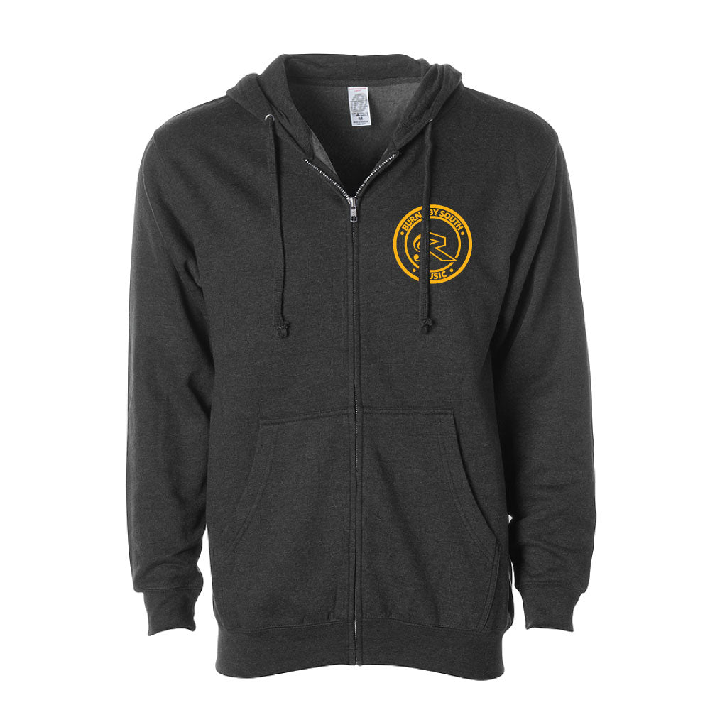 BSSS Music | Independent Midweight Zip Hooded Sweatshirt
