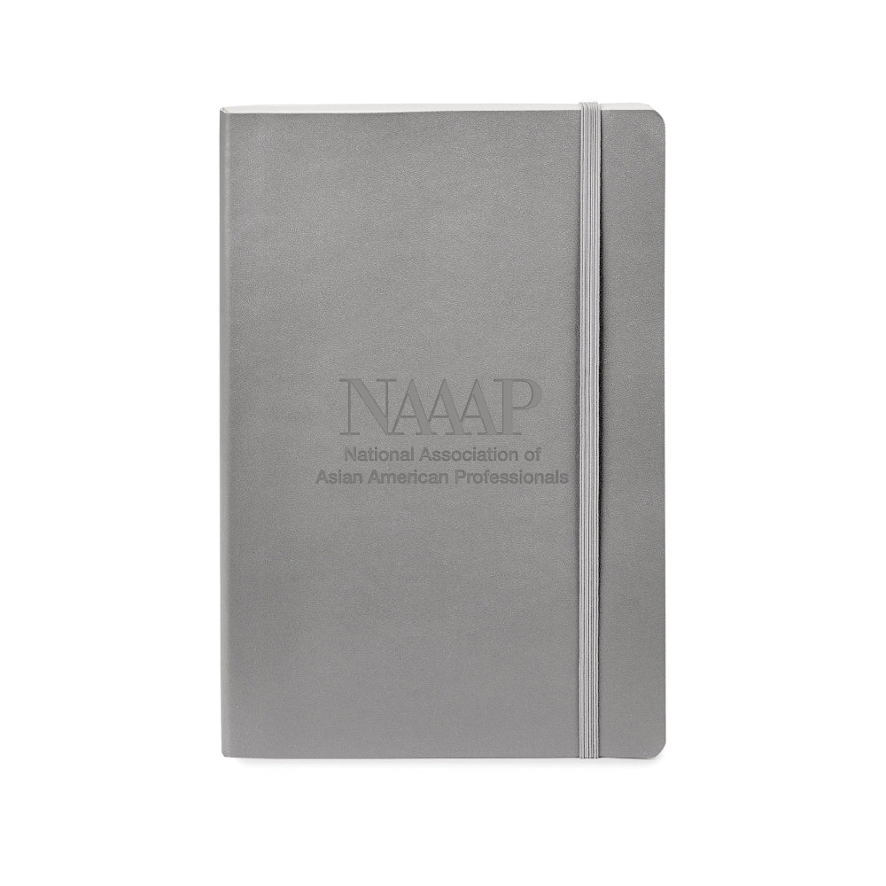 NAAAP | Neoskin® Soft Cover Journal - Silver