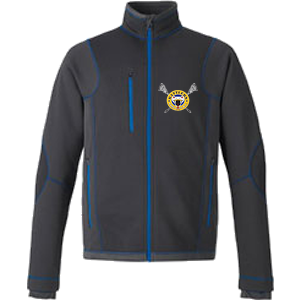 Kamloops Rattlers - Ash City North End Pulse Fleece - Carbon and Blue(Booking Only)