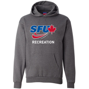 SFU Rec Sports - Champion Double Dry Eco Hooded Pullover