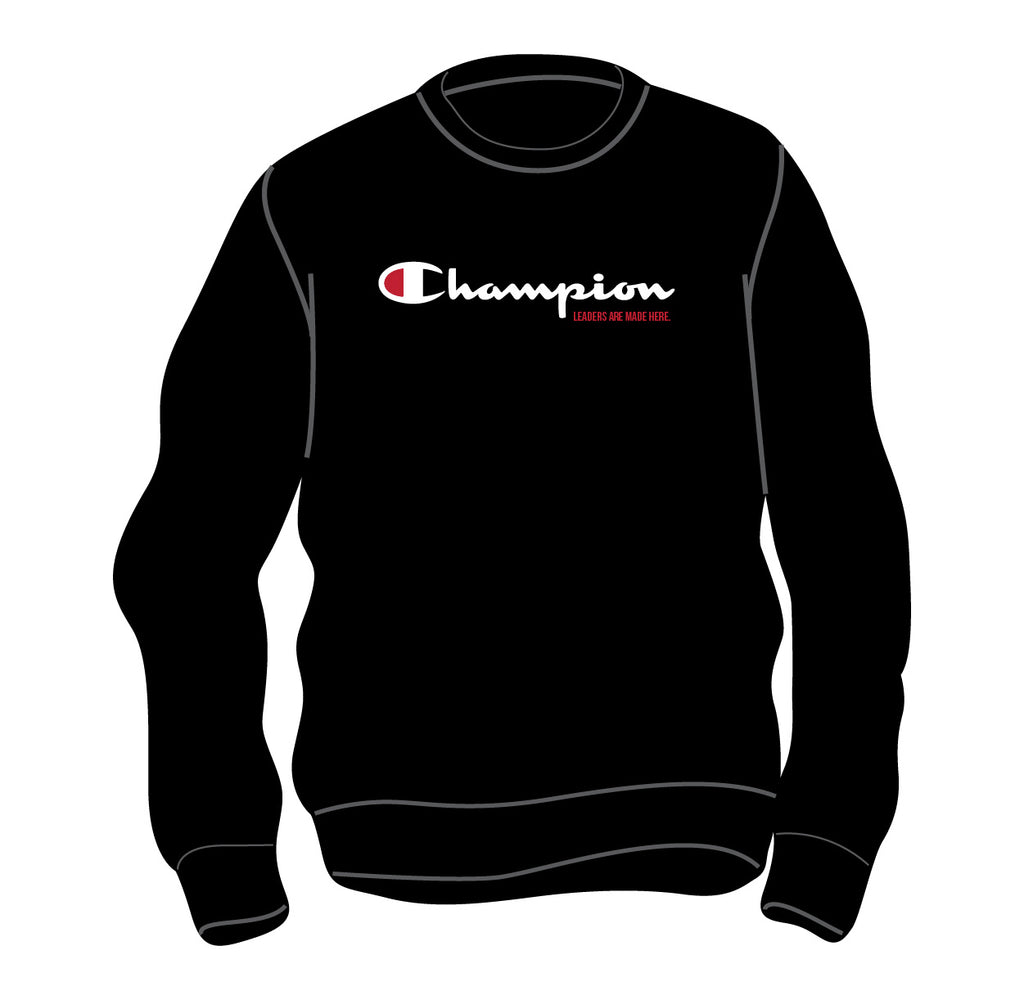 Dynamite Champion® Crewneck Sweatshirt - Black