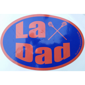 Surrey Rebel Decals - Lax Dad and Lax Mom