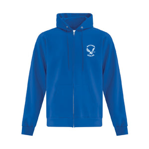 BCES | ATC™ Everyday Full Zip Hooded Sweatshirt - Royal (Youth & Adult)