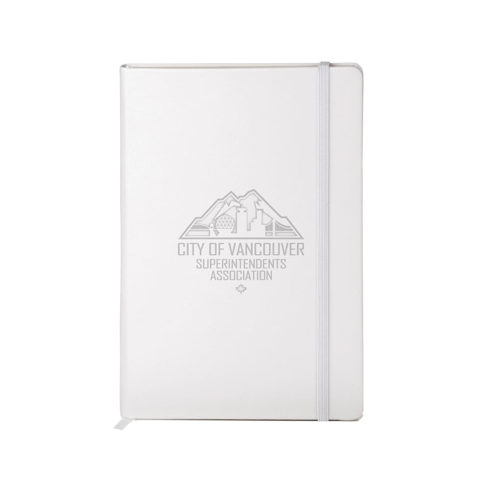 COVSA | Neoskin® Hard Cover Journal - White