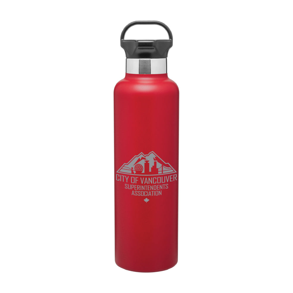 COVSA | 24oz H2GO® Ascent Bottle - Matte Red