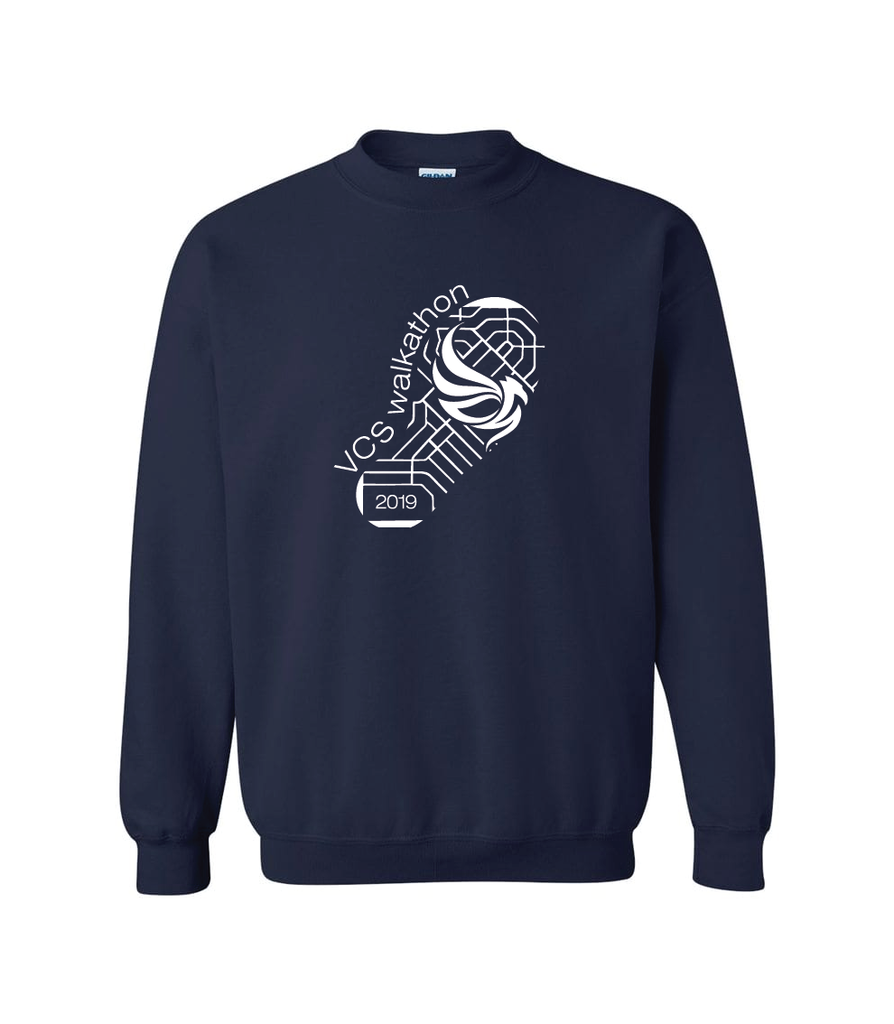 VCS - Walkathon 2019 Gildan® Heavy Blend Cotton Crewneck Sweatshirt