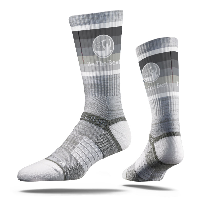 CF Be The Best. | Strideline Crew Socks