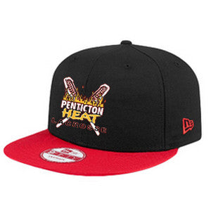 Penticton Heat - NEW ERA® Snapback Color Block Hat (Booking Only)