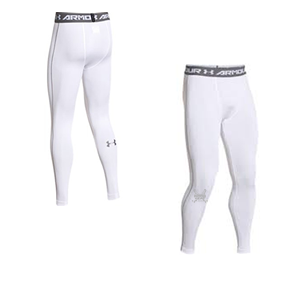 Penticton Heat - Under Armour HeatGear Leggings - White (Booking Only)