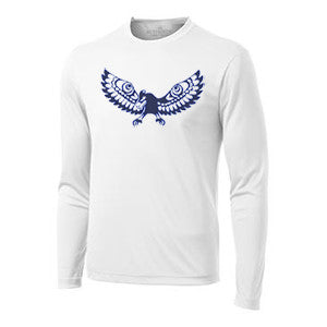 UBC Ultimate Club (AMS) - Long Sleeve Performance Shirt - White (Booking Only)