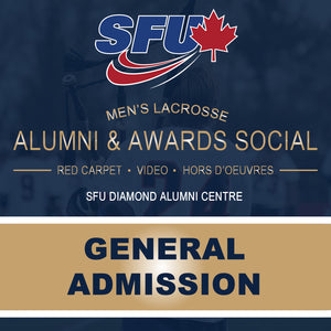SFU Men's Lacrosse - Alumni & Awards Social (General Admission)