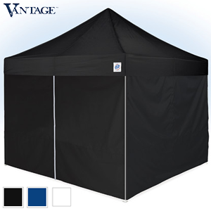 E-Z UP® 10ft x 10ft Vantage™ II Value Pack (Shelter & Sidewalls)