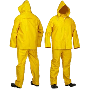 Forcefield® .35mm 3 Piece Economy Rain Suit