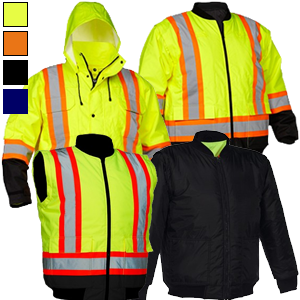 Forcefield® 4-in-1 Safety Parka