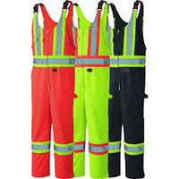 Pioneer® Hi-Viz Safety Poly/Cotton Overall