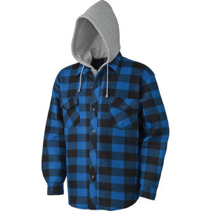 Pioneer® Quilted Hooded Polar Fleece Shirt