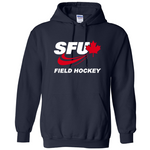 SFU Field Hockey - Heavy Blend Cotton Hoodie - Navy (Booking Only)