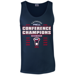 SFU Lacrosse - Nine Time PNCLL Conference Champs - Tank Top (Limited Edition)