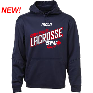 SFU Lacrosse - Performance Fleece Hoodie