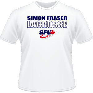 SFU Lacrosse - Performance Shirt - White