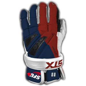 SFU Lacrosse - STX® Cell II Custom Gloves (Limited Edition)