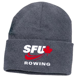 SFU Rowing - Acrylic Knit Toque - Athletic Oxford (Booking Only)