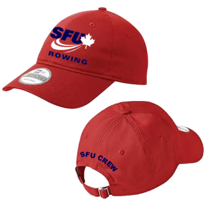 SFU Rowing - NEW ERA® Adjustable Unstructured Hat (Booking Only)