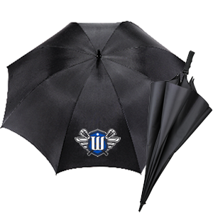 Surrey Warriors Sideline Umbrella - Black - (Limited Stock)