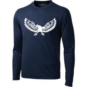 UBC Ultimate Club (AMS) - Long Sleeve Performance Shirt - Navy (Booking Only)