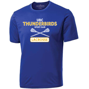 UBC Thunderbirds Lacrosse SC - Performance Shirt (Booking Only)