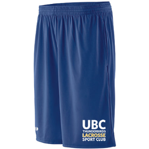 UBC Thunderbirds Lacrosse SC - Performance Shorts with Pockets (Closeout)