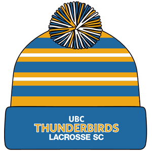 UBC Thunderbirds TSC Lacrosse - Pukka Custom Toque (Closeout)