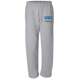 UBC Thunderbirds Tennis SC - Open Bottom Fleece Sweatpants with Pockets (Booking Only)