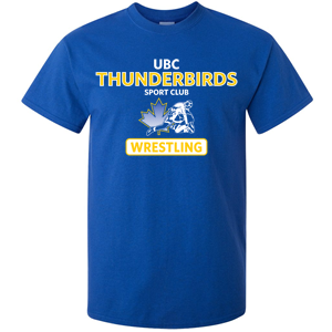 UBC Thunderbirds Wrestling SC - Ultra Cotton T-Shirt (Booking Only)