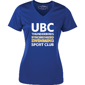 UBC Thunderbirds Synchronized Swimming SC - Performance Shirt (Booking Only)
