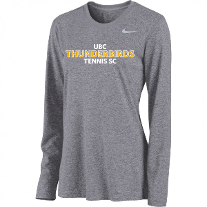 UBC Thunderbirds Tennis SC - NIKE Legend Long Sleeve Shirt (Team Members Only)