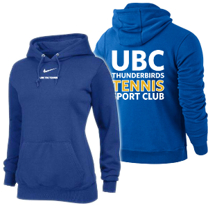 UBC Thunderbirds Tennis SC - NIKE Team Fleece Hoodie (Team Members Only)