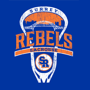 Surrey Rebels - City Logo Ultra Cotton T-Shirt - Royal (Booking Only)