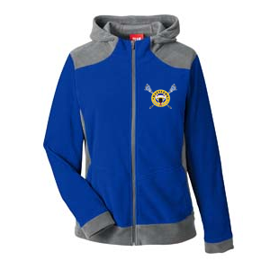 Kamloops Rattlers - Womens Team 365 Fleece - Royal Blue & Carbon(Booking Only)