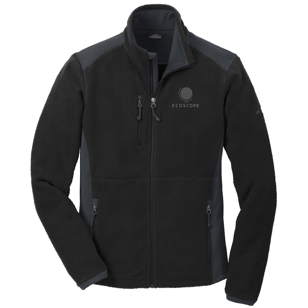 UBC ECOSCOPE - Eddie Bauer® Men's Sherpa Fleece Full Zip Jacket (Booking Only)