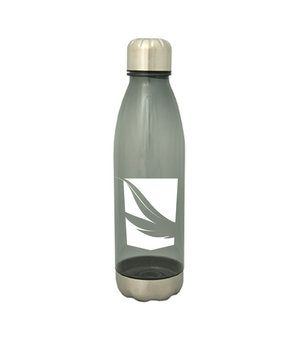 VCS - 24oz Transparent Black Water Bottle