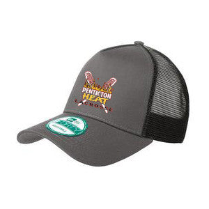 Penticton Heat - NEW ERA® Trucker Snapback - Grey (Booking Only)