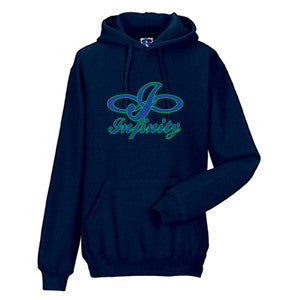 Infinity Volleyball - Russell Athletic Fleece Hooded Pullover - Navy (Booking Only)