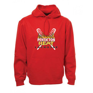 Penticton Heat - Performance Fleece Hoodie - Red (Booking Only)