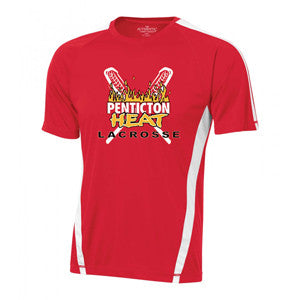 Penticton Heat - Shooter Shirt - Red (Booking Only)