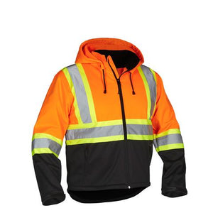 Forcefield® Safety Softshell Rain Jacket
