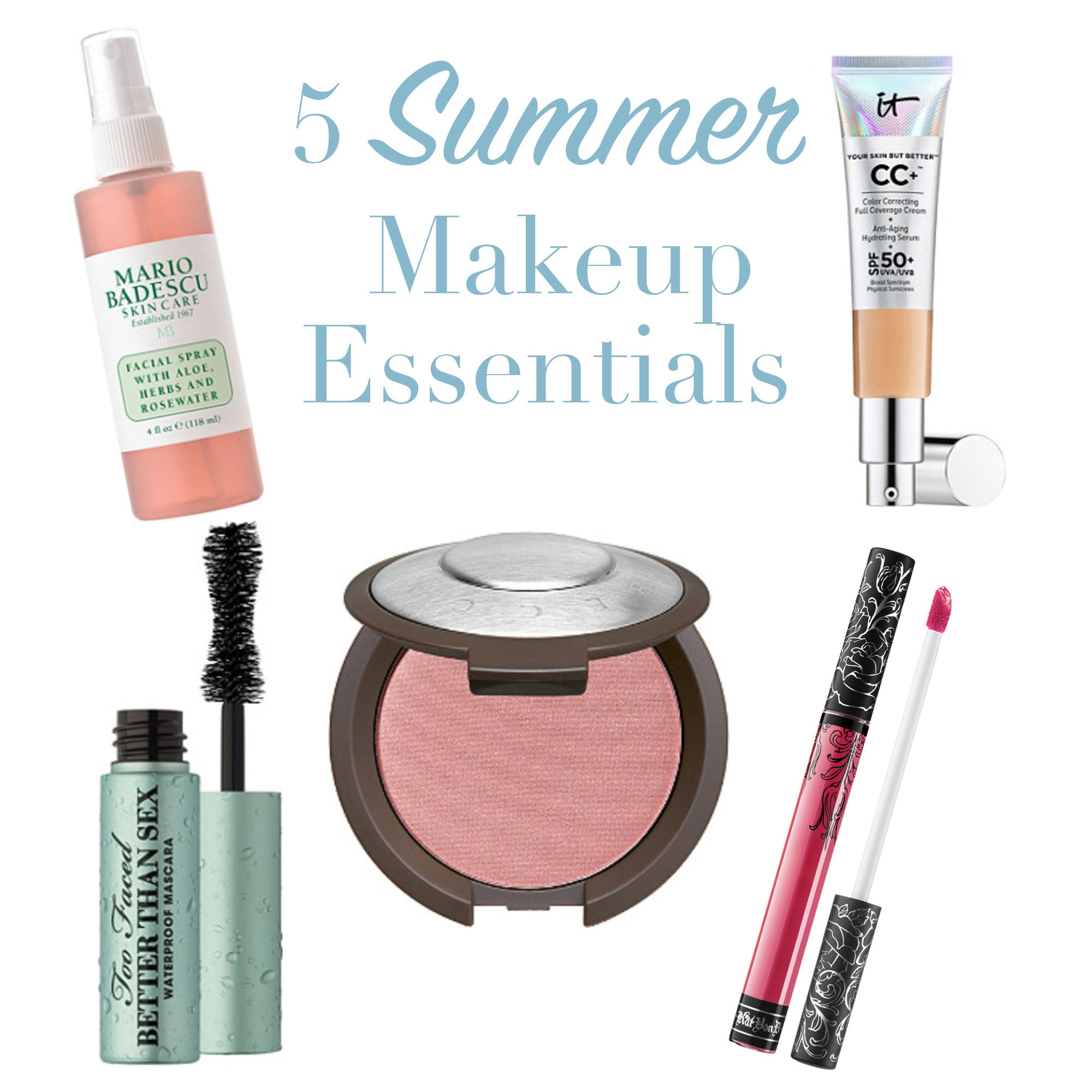Five Summer Makeup Essentials To Get Now Sweetest Stitch
