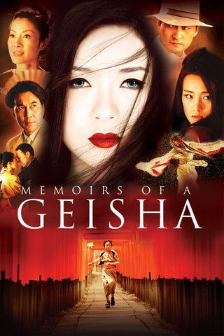 Memoirs Of A Geisha 2005 Movie Poster