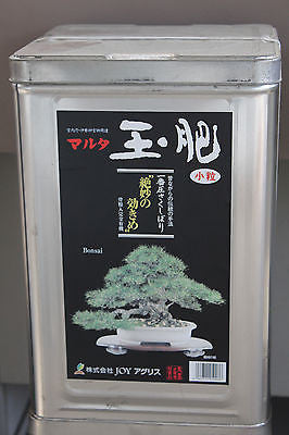 Japanese Traditional Organic Bonsai Fertilizer Rapeseed Cakes - 8 Kg Box
